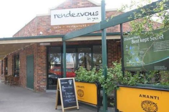 Great food and great coffee at rendezvous in yea 😉