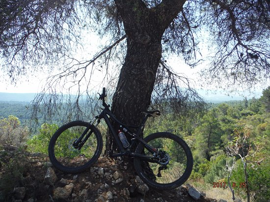 Piraeus, Griekenland: Parnitha Mountain biking