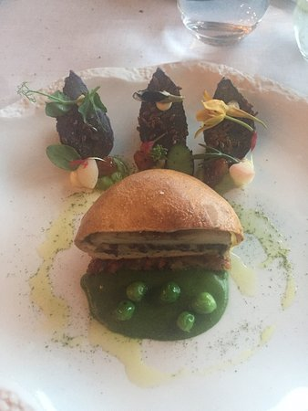 Cliff House Hotel: Amazing vegetarian tasting menu!