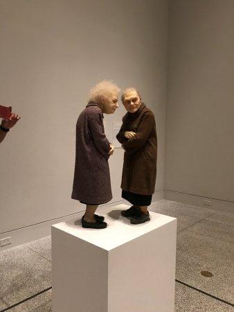 Ron Mueck Exhibit - Picture of Museum of Fine Arts, Houston ...