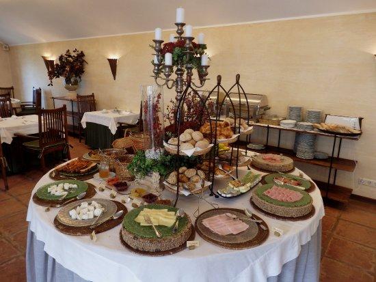 Belmonte, Portogallo: Breakfast buffet