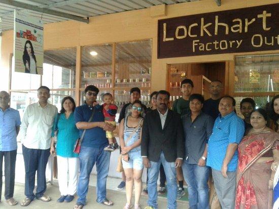 Devikulam, Índia: Guest at Lockhart Tea Factory