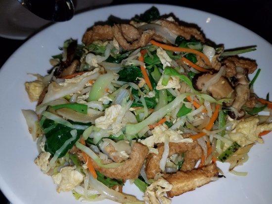 Goji Kitchen: mushu vegetables--excellent