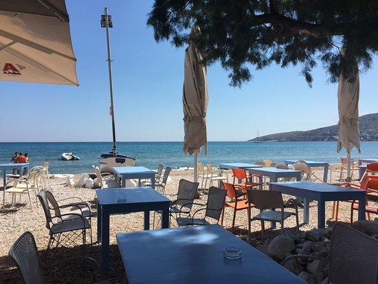Varkiza, Grækenland: View from the restaurant