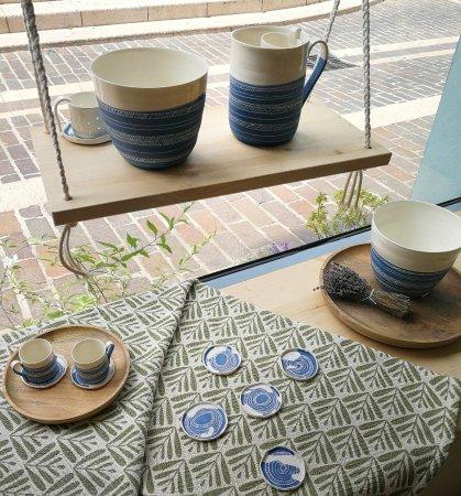Les Petites Porcelaines collection cobalt en porcelaine - picture of les petites porcelaines