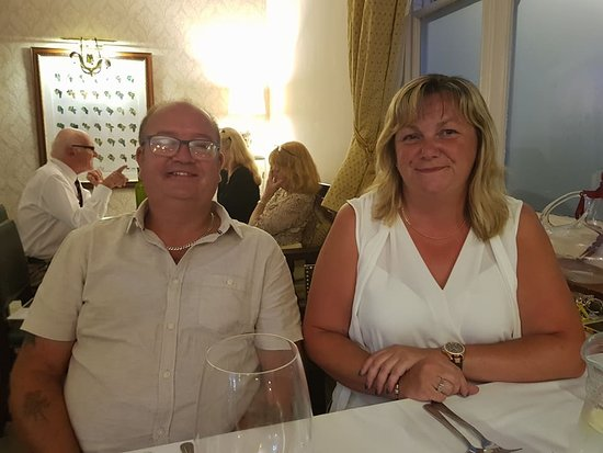 Great Bardfield, UK: Enjoying the food