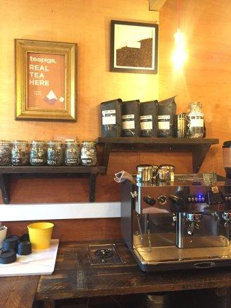 Appletreewick, UK: On site coffee shop