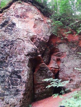 Sigulda, Latvia: raven cave