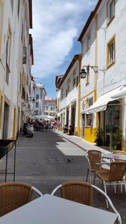 Evora District, Portugalia: uitzicht vanuit het buiten terras