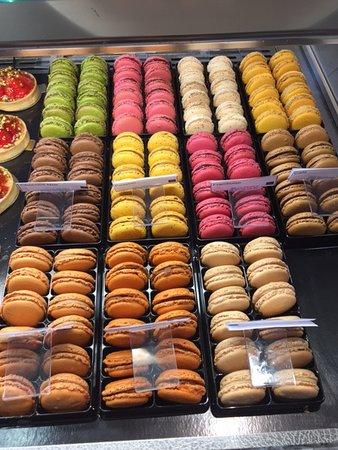 Divonne-les-Bains, Frankrijk: Choix de Macarons Leonidas
