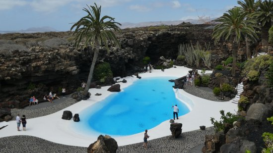 Punta Mujeres, Hiszpania: Poolbereich