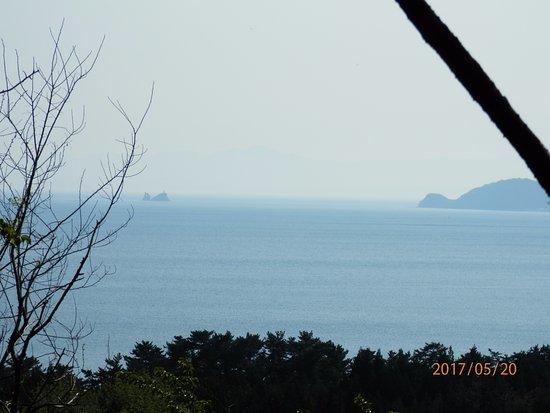 Mutsu, Japan: 脇野沢方面の眺望