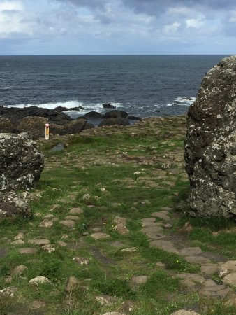 Greystones, Ierland: The Giant's Causeway- A UNESCO site