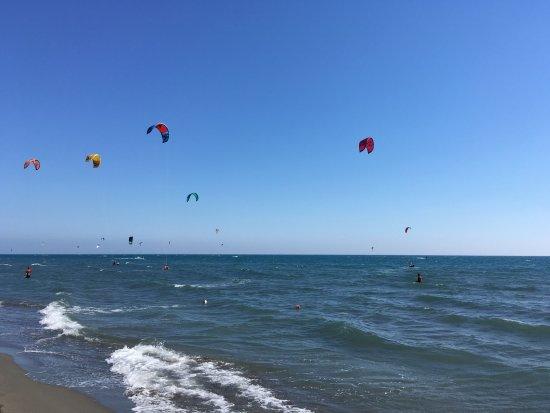 Ulcinj, Montenegro: Optimale Windverhältnisse