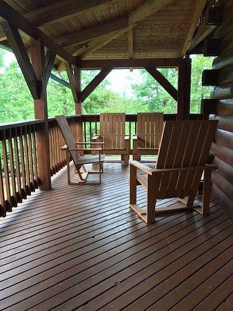 Campton, KY: Porch