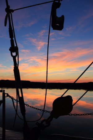 Port Clyde, ME: Quiet moment on the sunset cruise