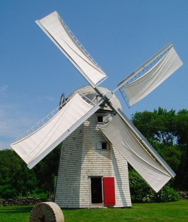 Jamestown, RI: Windmill - open Summer -Saturdays & Sundays 1-4pm