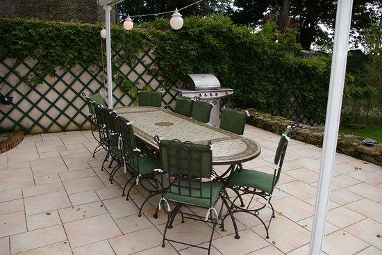 Sulniac, Prancis: la terrasse