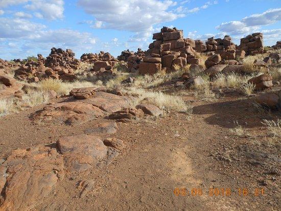 Keetmanshoop, Namíbia: Giant's playground