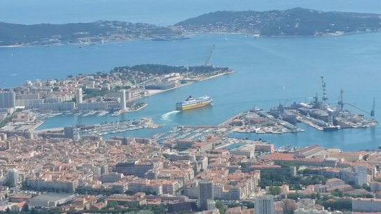 Vue depuis la table d 39 orientation photo de point sublime mont faron toulon tripadvisor - Orientation nord ouest avis ...