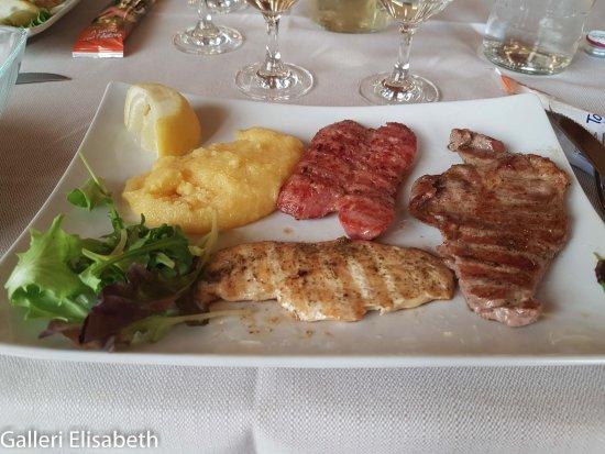 Preganziol, Italia: Grillat till middag