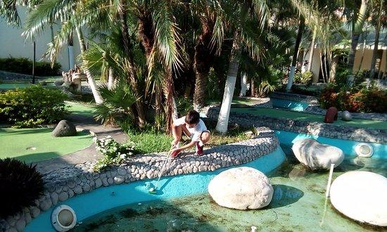 Family Hotels Resorts Collection Playa Esmeralda Free Mini Golf