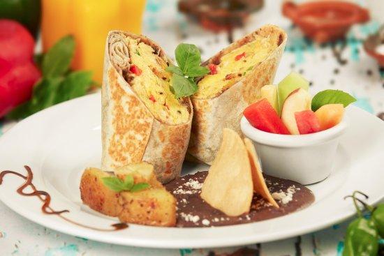 Mayan Bistro: Breakfast selection