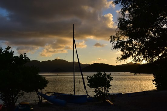 East End, St. John: Gorgeous Sunsets