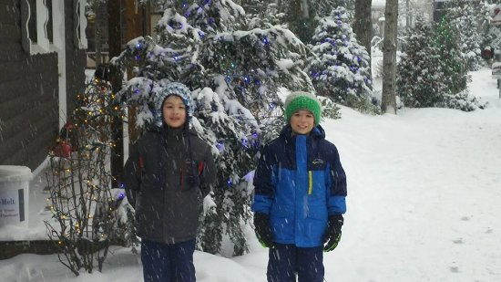 Santa's Village: Snowy fun