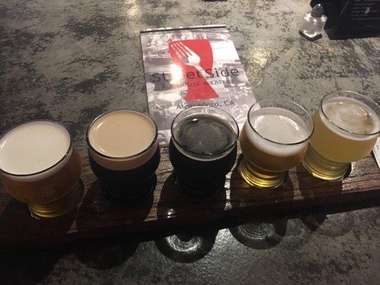 Atascadero, CA: Beer flight
