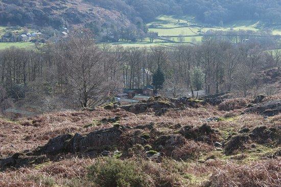 Ulverston, UK: View of lodges