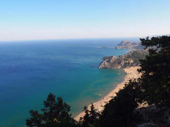 Kolimbia, Yunani: ancora spiaggia Tsambika