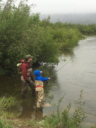 Dubois, Вайоминг: Thank you for your great guide service. My son is hooked for life!