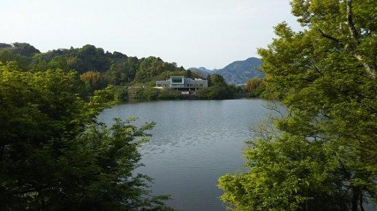 Iyo-gun, Japón: すばらしい湖の眺め、癒されます
