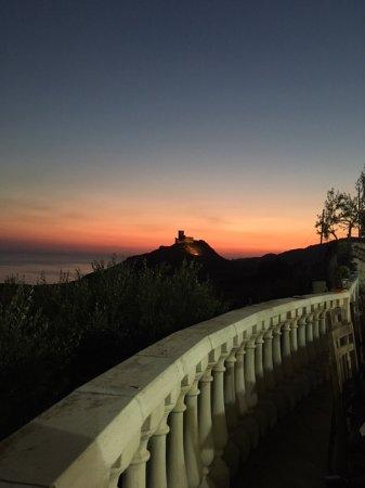 Palma di Montechiaro, Italy: View from restaurant.