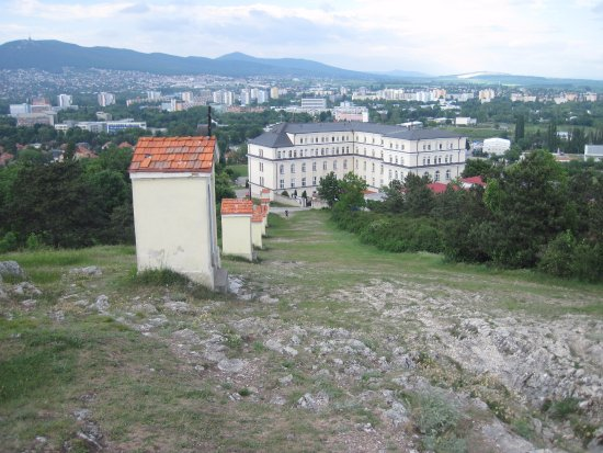 View from the calvary in Nitra