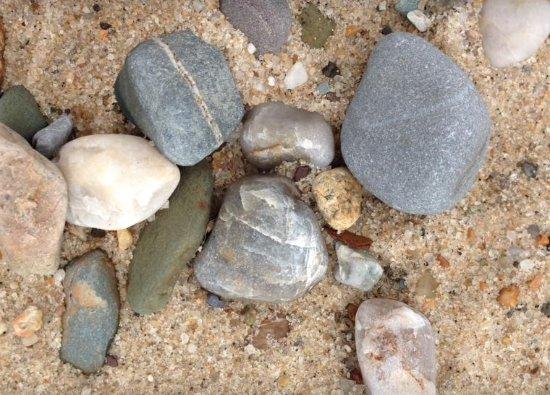 Truro, MA: Weatherworn stones
