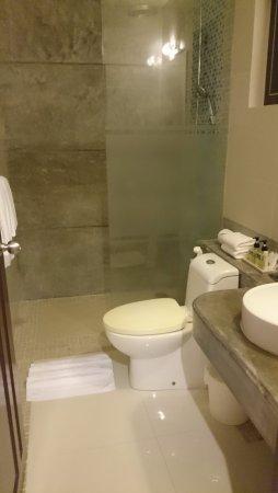 Cape Panwa, Thailand: toilet and rain shower