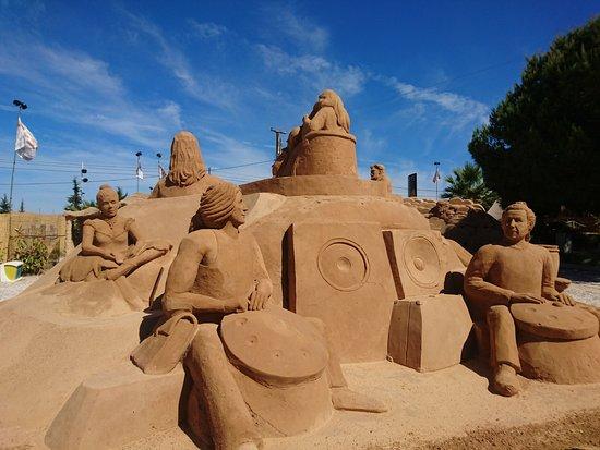 Pera, Portugal: Large Sculptures