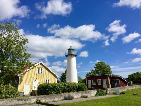 Trelleborg, Szwecja: Der Leuchtturm in Smygehuk, Juni 2017