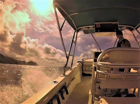 "West End, Tortola: Captain Deborah & ""Irie"""
