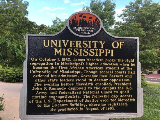 Bilde fra University of Mississippi