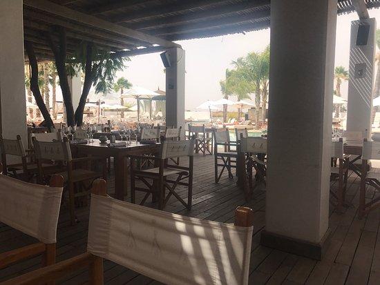 Nikki Beach : Il posto è carino anche se sembra un pó trascurato ma la cucina è 10+ da ristorante stellato!