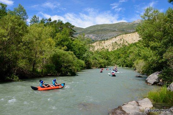 Castellane, France : Canoë / Kayak sur le Verdon