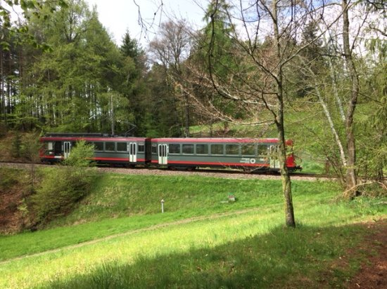 Renon, Italien: Tram to towns