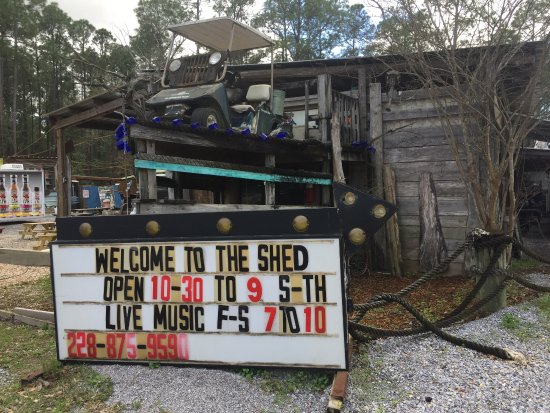 ‪‪Ocean Springs‬, ‪Mississippi‬: The Shed‬