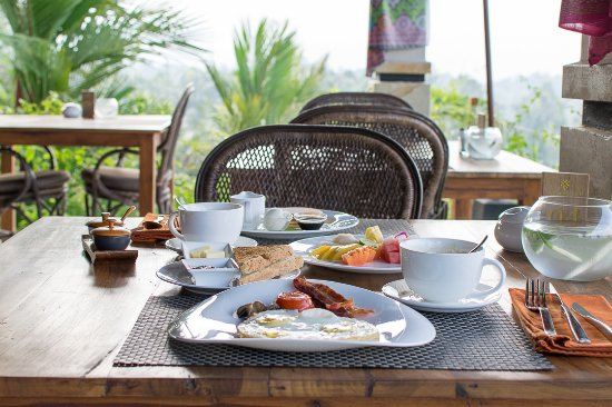 Selemadeg, Indonesia: nice breakfast spread