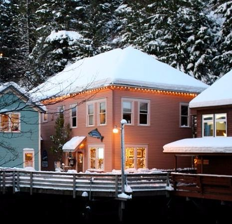 Ketchikan, AK: Star House: Yoga on the Creek is upstairs