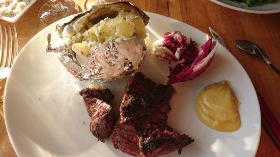 Yerres, Γαλλία: Foie Gras Salade Fermière  Filet de Boeuf  ...