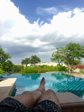 The Oberoi Udaivilas: Semi-Private Pool